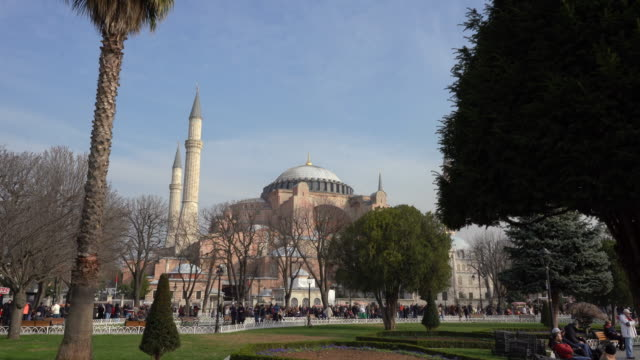 The Blue Mosque - Sultanahmet Camii A fountain in front of the Blue Mosque religious text stock videos & royalty-free footage