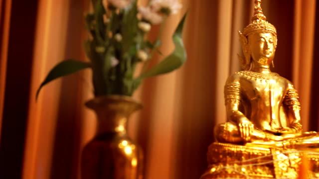 The Buddha Statue decoration Thai Wedding video