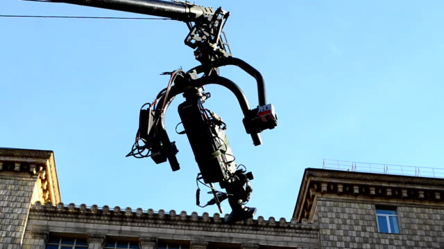 The camera on the crane video