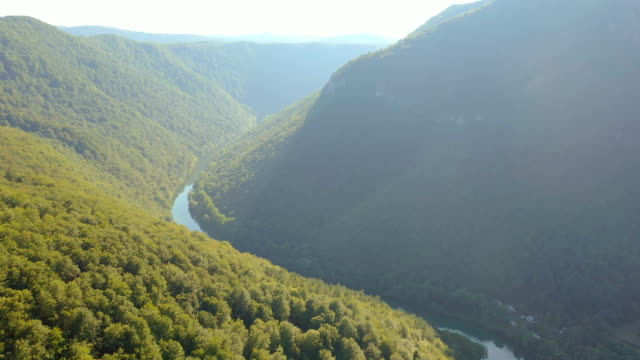AERIAL The canyon of Kolpa