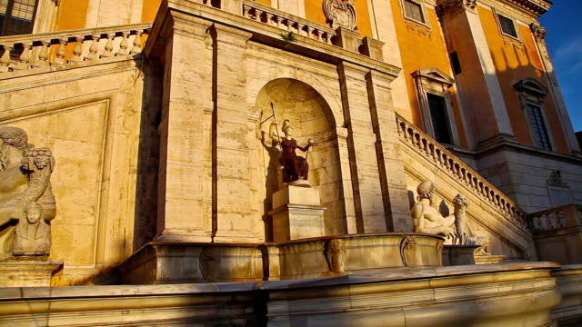 The Capitoline Fountain