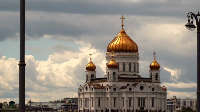 The Cathedral of Christ the Savior is a Russian Orthodox cathedral in Moscow video