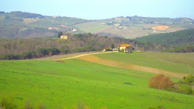 The Chianti Valley in Tuscany, Italy