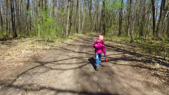 The child did not like the road. She decided to align the road. video