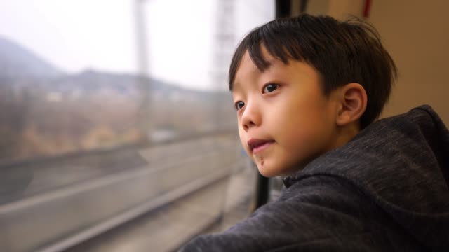 The children are on the train The children are on the train railroad station platform stock videos & royalty-free footage
