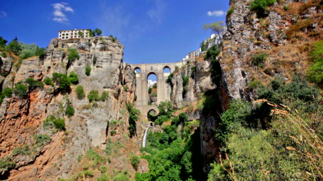 The city over the abyss, Ronda, Spain video