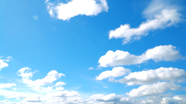the clear sky with a cloud