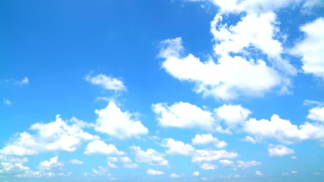 クリアスカイに、クラウド - 空点の映像素材/bロール