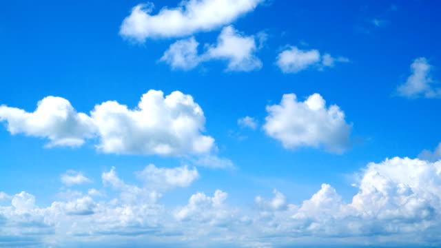 クリアスカイに、クラウド - 青空点の映像素材/bロール