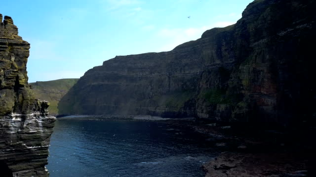 The Cliffs of Moher , the burren, Co Clare, video