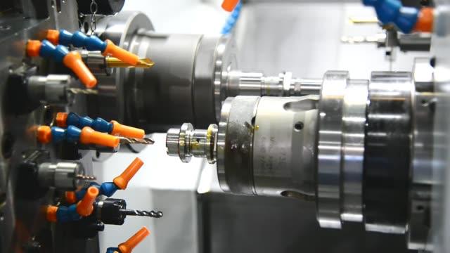 The CNC lathe multi-tasking machine video