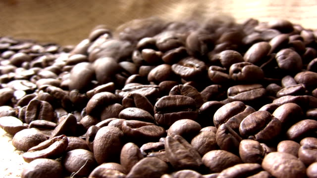 The coffee beans video