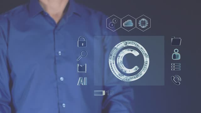 The concept of modern copyright. The technology of digital intellectual property.