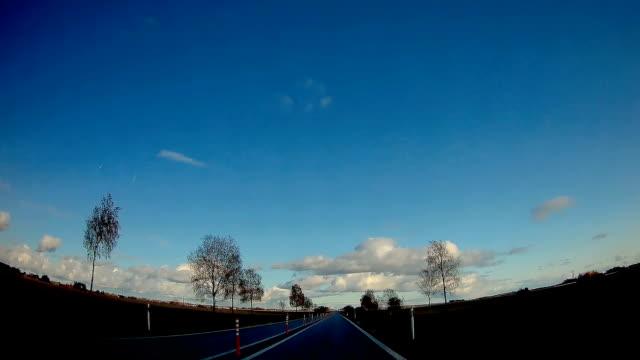 konkreta vägen av estlands staden i skandinavien - fur bildbanksvideor och videomaterial från bakom kulisserna