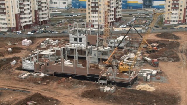 The construction of the school, the General plan video