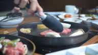 istock the cooking of Korean style hot pan barbecue meat 1285102076