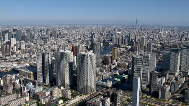 東京の日ビュー - 東京点の映像素材/bロール