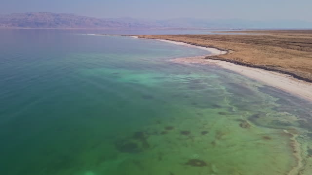 vidéos et rushes de la mer morte - étendue sauvage scène non urbaine