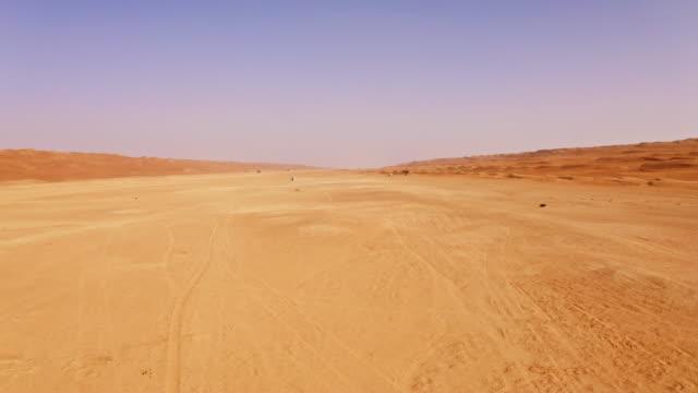 阿曼的沙漠 - 航拍 個影片檔及 b 捲影像