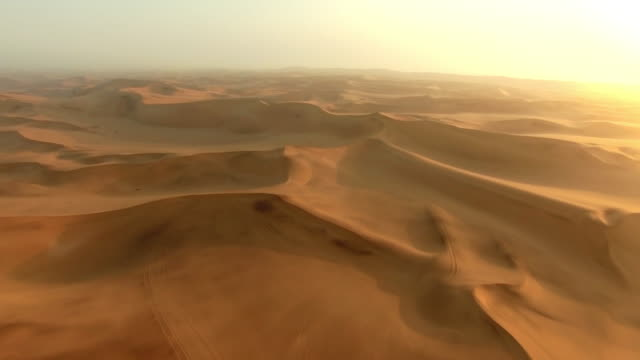 The desert is desolate video