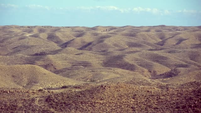The Desert Landscape Of Tunisia