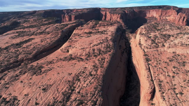 The deserted rocks nearby Kayenta, Arizona