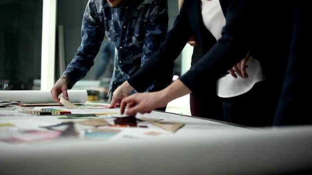 The Design Team Chooses Colors for Interior Design video