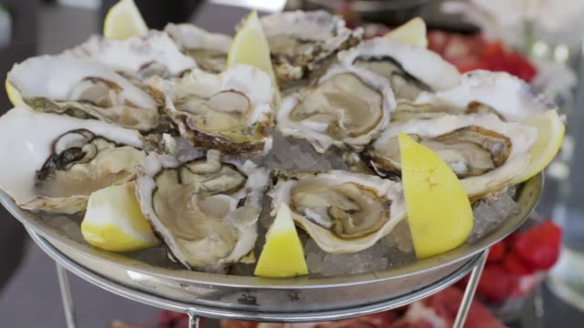 The Dish With Oysters