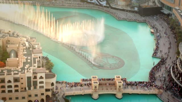 The Dubai fountain video