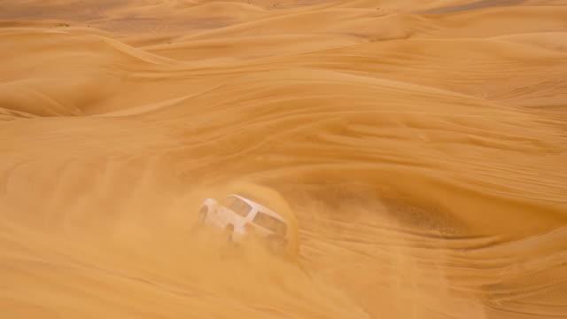 SLO MO The dune bashing in Dubai video