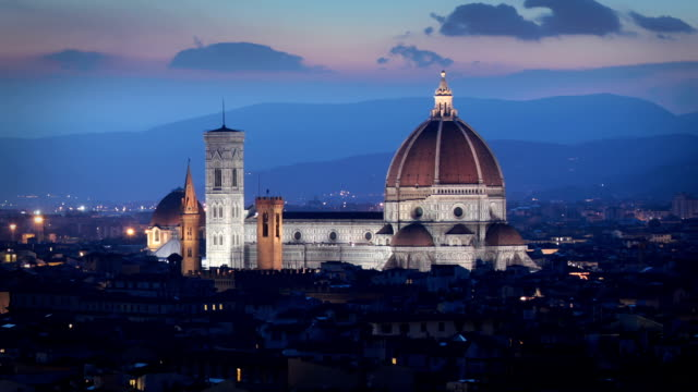 The Duomo Cathedral, Florence, Italy video