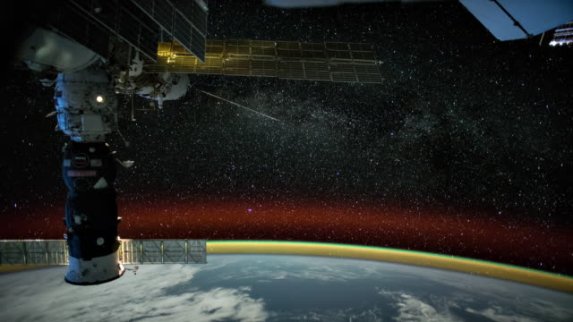 The Earth seen from ISS 4K video