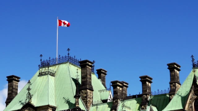 The East Block of Canada's Parliament Buildings video