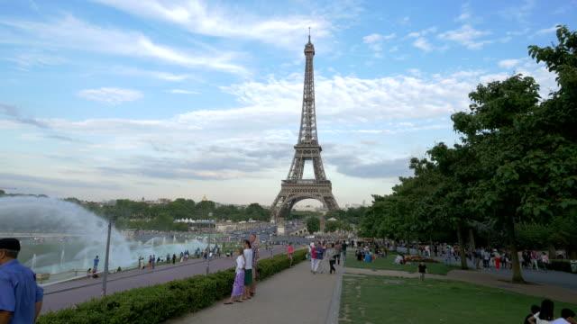 The Eiffel Tower and the Gardens du Trocadero, Paris – film