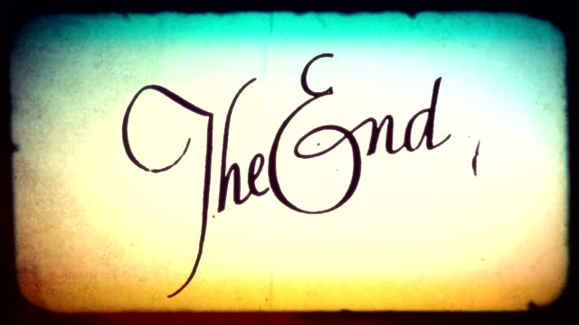 The End Hd Video 4k B Roll Istock