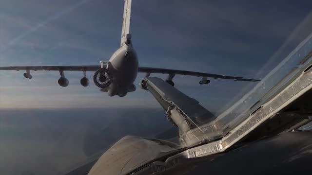 The end of refueling in the air The end of refueling in the air refueling stock videos & royalty-free footage
