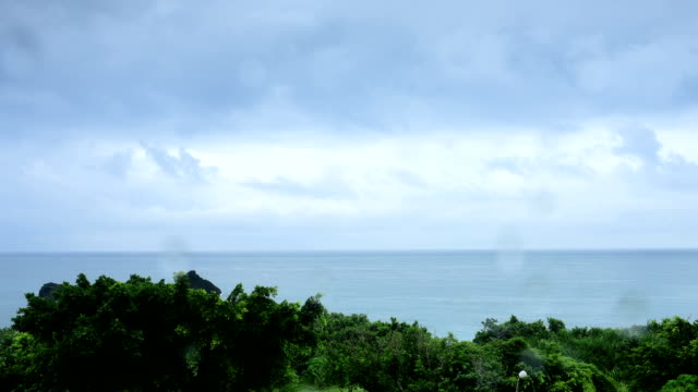 The endless Pacific Ocean