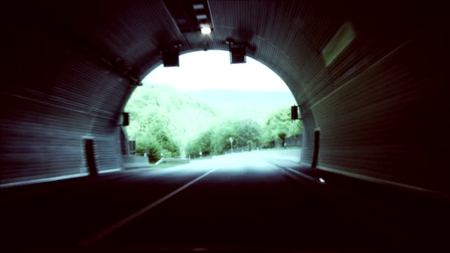 the exit from a tunnel video
