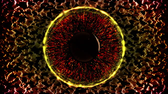 vidéos et rushes de l'yeux - rétine
