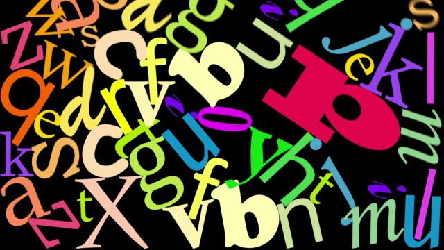 Le lettere cubi - video