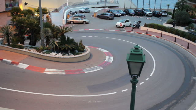 The Famous F1 Turn in Monaco Time Lapse video