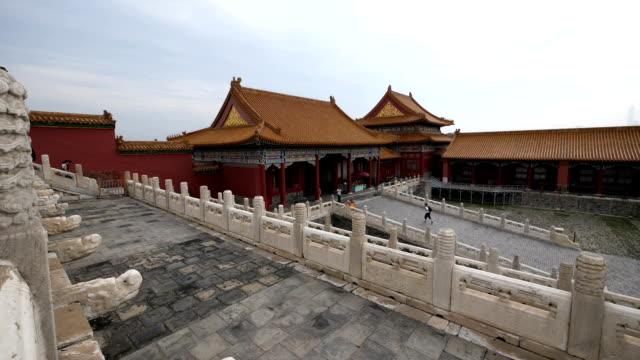 The famous forbidden city in Beijing video