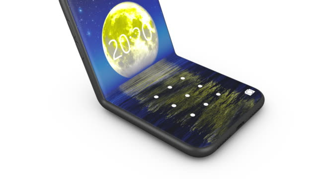 The flexible smartphones