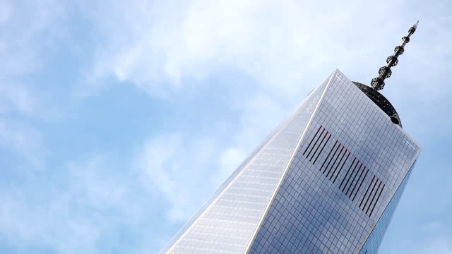 The Freedom Tower in NY Downtown District video