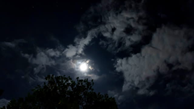 The full moon. video