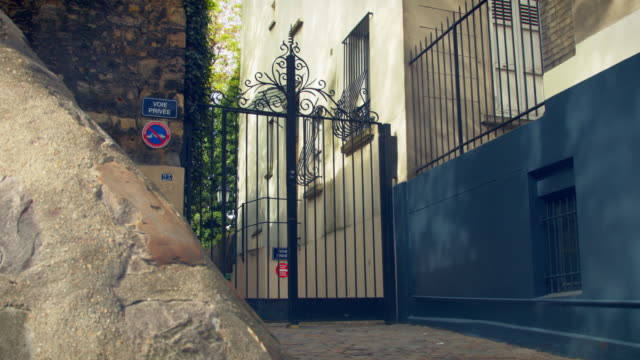 The gate of Montmartre video