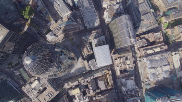 The Gherkin from Above