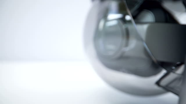 ドローンのセンサーのガラス部分 ビデオ