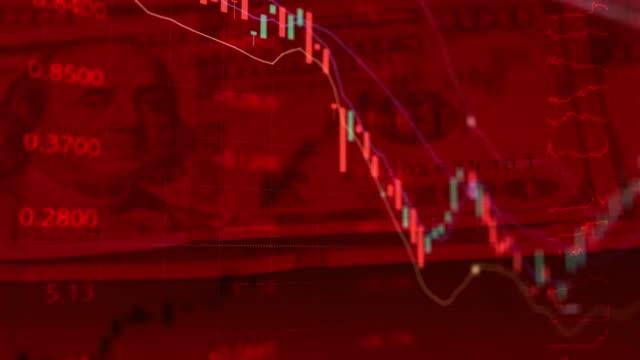the global economic crisis. unemployment. coronavirus stock market crisis concept. - ruined stock videos & royalty-free footage