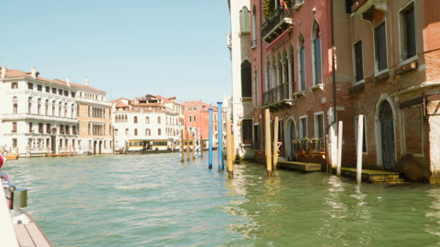 The Grand Canal in Venice video